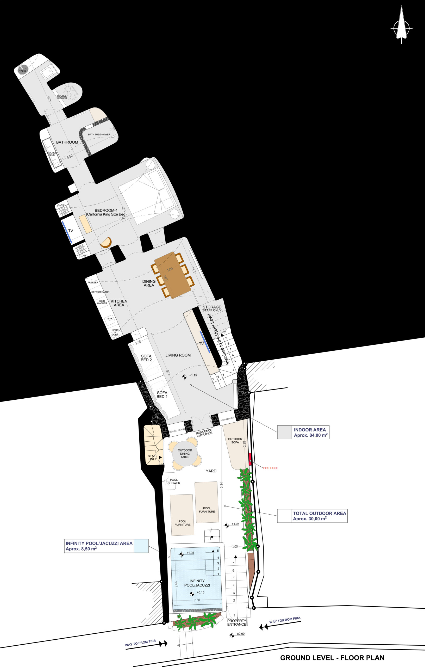 OUT-GROUND LEVEL - PLAN